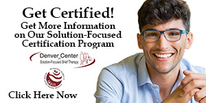 Certification Program for Solution-Focused Therapists information