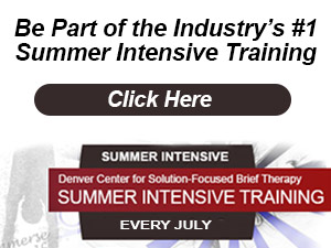 Solution-Focused Summerintensive Training